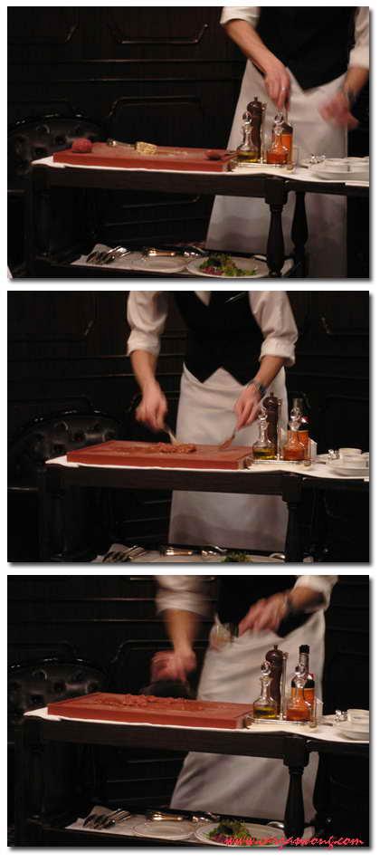 即製生午肉tartar