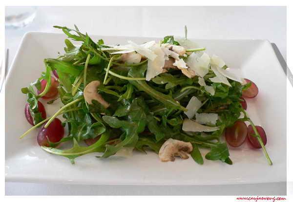 火箭菜磨菇沙拉