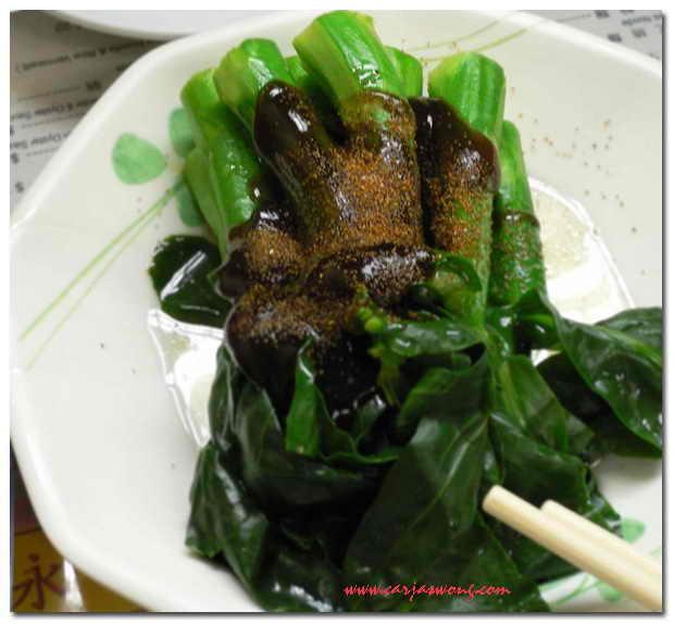 蝦子蠔油芥蘭